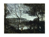 Ville D'Avray Giclee Print by Jean-Baptiste-Camille Corot