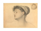 Study for Girl with Doves Giclee Print by Anthony Frederick Augustus Sandys