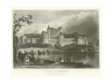 Chateau of Amboise Giclee Print by Alphonse Marie de Neuville