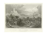 Ruins of Godesberg Giclee Print by William Tombleson