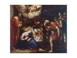 Nativity, Painting Giclee Print by Johann Rottenhammer