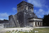 Temple of the Jaguars, Chichen Itza Photographic Print