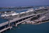 Port of Miami, C.1985 Photographic Print