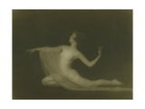 Formal Nude Study, C.1920 Giclee Print by Arnold Genthe