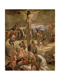 The Crucifixion of Christ, 1565 Giclee Print by Jacopo Robusti Tintoretto