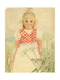 Portrait of a Child, C.1918 Giclee Print by Anneliese Everts