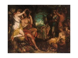 A Bacchanalian Revel Giclee Print by William Etty