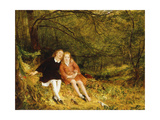 The Lost Path, 1852 Giclee Print by Richard Redgrave