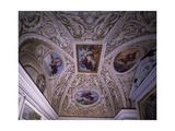 Vault of Chapel, Frescoes Giclee Print by Pietro da Cortona