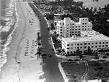 Lauderdale Beach Hotel, 1938 Photographic Print
