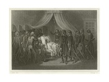The Death of General Hoche Giclee Print by Denis Auguste Marie Raffet