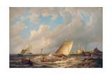 Maassluis, Holland Giclee Print by Pieter Cornelis Dommerson