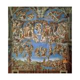 The Last Judgement, Sistine Chapel 1534-41 Giclee Print