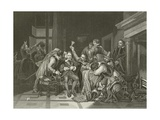 Charles the First in the Guard Room Giclee Print by Hippolyte Delaroche