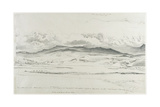 Mountain Panorama in Wales - Cader Idris Giclee Print by Cornelius Varley