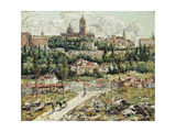 Segovia, Spain, C.1916 Giclee Print by Ernest Lawson