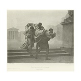 The Body of Caesar Giclee Print by Jean-Andre Rixens