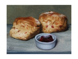 Cherry Scones and Jam, 2013 Giclee Print by James Gillick
