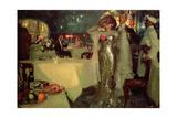 The Restaurant, 1907 Giclee Print