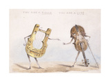 You are a Fiddle, You are a Lyre, after 1864 Giclee Print by John Leech