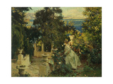 A Garden in Corfu, 1909 Giclee Print by John Singer Sargent