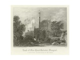Tomb of Meer Haiat Kalender, Mungrool, India Giclee Print by Henry Warren