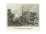 Tomb of Meer Haiat Kalender, Mungrool, India Giclee Print by Henry Warren