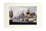 The Battle of Trafalgar, October 21st 1805, 1816 Giclee Print by Thomas Whitcombe