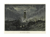 The Eddystone Lighthouse on the Eddystone Rocks Giclee Print by J. M. W. Turner