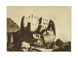 Le Coupe-Gorge Effrayant Giclee Print by Johann Michael Voltz