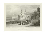 Mistley Thorn Church, Near Manningtree, Essex Giclee Print by George Bryant Campion