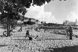 La Concha Beach, C.1955 Photographic Print