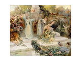 The Festival Giclee Print by Georges Clairin