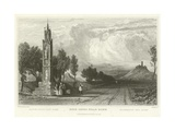 High Cross Near Bonn Giclee Print by William Tombleson