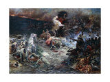 The Carnage Giclee Print by Georges Clairin