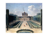Views of the Chateau De Mousseaux and its Gardens Giclee Print by Jean-Francois Hue