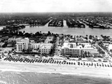 Lauderdale Beach and Islands, C.1950 Photographic Print
