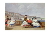 Le Treport, 1867 Giclee Print by Jules Achille Noel