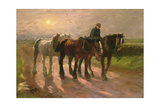 Homeward Giclee Print by Harry Fidler