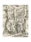 La Crucifiction Impression giclée par Hendrik van the Elder Balen