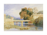Chateau Navarre, Near Evreux, Normandy Giclee Print by John Sell Cotman