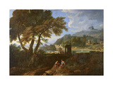 Landscape Giclee Print by Gaspard Poussin Dughet
