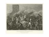 Paris Besieged by the Normans, Ad 885 Giclee Print by Alphonse Marie de Neuville
