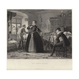 The Lady's Tailor Giclee Print by Henry Stacey Marks