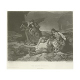 The Death of Havana Giclee Print by Fernand Cormon
