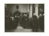 The Charterhouse Chapel Giclée-Druck von Sir Hubert von Herkomer