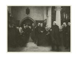 The Charterhouse Chapel Giclee Print by Sir Hubert von Herkomer