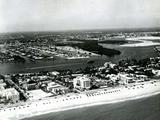 Fort Lauderdale Public Beach, 1951 Photographic Print
