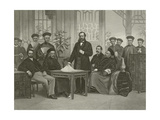 Chinese Embassy to Foreign Powers, 1868 Giclee Print by Alonzo Chappel
