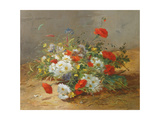 Flower Study Giclee Print by Eugene Henri Cauchois